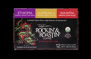 ComboPack Rockin & Roastin SS Cups