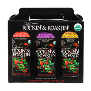 3 Pack_Ground Rockin & Roastin Coffee